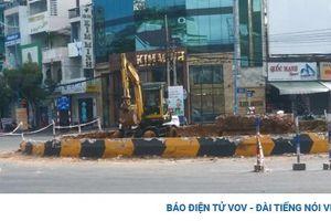 Tháo dỡ 2 vòng xoay để tránh ùn tắc giao thông ở Vũng Tàu