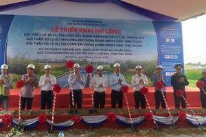 Đồng loạt triển khai 3 gói thầu cao tốc Bắc - Nam, đoạn Mai Sơn - Quốc lộ 45