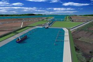 Động thổ xây dựng cụm công trình kênh nối Đáy - Ninh Cơ trị giá 107 triệu USD