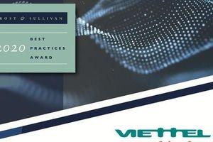 Viettel Cyber Security nhận giải thưởng danh giá của Frost & Sullivan năm 2020