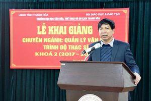 Thanh Hóa có tân Giám đốc Sở Giáo dục và Đào tạo
