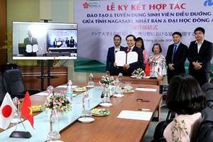 7 tỉnh, thành của Nhật hợp tác tạo việc làm cho sinh viên Đại học Đông Á