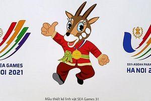 Biểu trưng, biểu tượng vui SEA Games 31 chính thức được phê duyệt