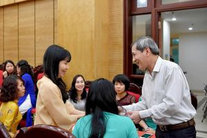 Quận Ba Đình (Hà Nội) gặp mặt cán bộ chủ chốt ngành Giáo dục nhân ngày 20/11
