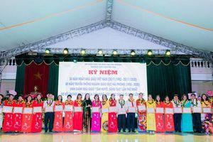 Hải Phòng: Trường THPT Nguyễn Trãi tự hào mốc son 40 năm tuổi