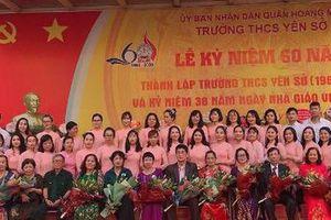 Hà Nội: Trường THCS Yên Sở kỉ niệm 60 năm thành lập