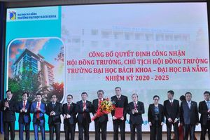 Trường ĐH Bách khoa (ĐH Đà Nẵng) có Chủ tịch Hội đồng trường mới