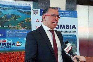 Đại sứ Colombia quảng bá du lịch tại VITM Hà Nội 2020
