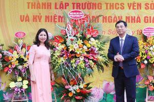 Trường THCS Yên Sở kỷ niệm 60 năm ngày thành lập và 38 năm Ngày Nhà giáo Việt Nam