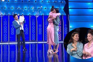 Khánh Vân, Lệ Hằng ôm nhau khóc vì thắng hơn 100 triệu