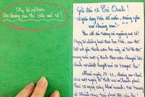 Những tấm thiệp 20/11 dễ thương 'vô cực' của học sinh xứ Nghệ