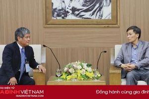 Thứ trưởng Bộ Tư pháp làm việc với Hội luật quốc tế Việt Nam