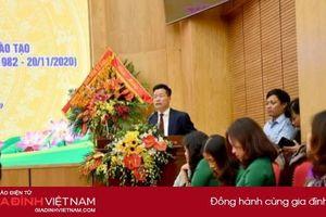 Quận Ba Đình - Hà Nội gặp mặt, tri ân các thầy cô giáo nhân dịp 20/11