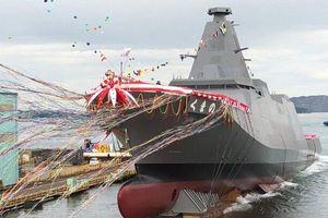 Nhật Bản ra mắt tàu chiến tối tân mới thuộc lớp khinh hạm đa chức năng