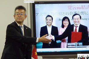 ĐH Đông Á 'bắt tay' trực tuyến với Nagasaki đưa sinh viên sang Nhật thực tập nghề và làm việc