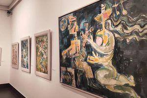 Độc đáo triển lãm các tác phẩm hội họa 'Truyện Kiều'