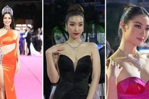 Tiểu Vy sexy táo bạo, dàn hậu o ép vòng 1 ở Hoa hậu Việt Nam
