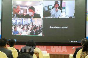 Kết nối trực tuyến, chuyển giao công nghệ giữa doanh nghiệp Việt Nam - Nhật Bản