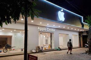 Cửa hàng Apple Center tại Việt Nam bị buộc phải gỡ logo 'Táo khuyết'