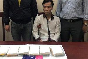 Nghệ An: Bắt đối tượng buôn 6 bánh heroin 600 viên ma túy
