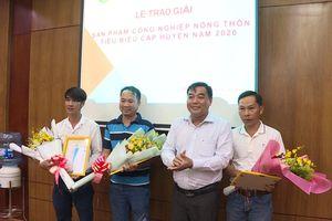 Đất Đỏ trao giải 9 sản phẩm công nghiệp nông thôn tiêu biểu