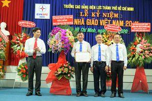 Lãnh đạo EVNSPC chúc mừng ngày Nhà giáo Việt Nam