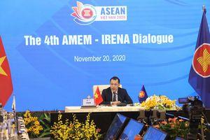 Hợp tác AMEM - IRENA: Năng lượng tái tạo tiếp tục là trọng tâm