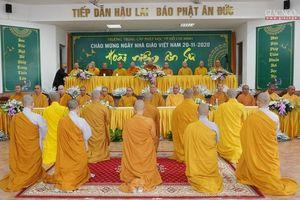 Trường Trung cấp Phật học TP.HCM tri ân giáo thọ sư