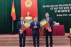 Đồng chí Trần Thắng được bầu làm Chủ tịch UBND tỉnh Quảng Bình