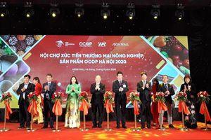 80 doanh nghiệp tham gia xúc tiến thương mại, tiêu thụ nông sản an toàn của Hà Nội