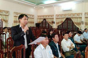 Cử tri kiến nghị nhiều vấn đề liên quan nông nghiệp - nông thôn