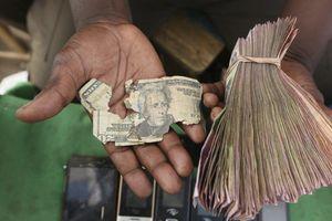 Nghề sửa tiền rách cứu sống hàng nghìn người ở Zimbabwe