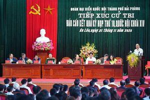Thủ tướng Chính phủ Nguyễn Xuân Phúc tiếp xúc cử tri tại huyện An Lão (Hải Phòng)