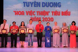 'Hoa việc thiện' giúp lan tỏa nghĩa tình của TPHCM