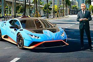 Siêu xe Lamborghini Huracan STO mới bán ra từ 328.000 USD