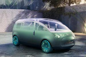 MINI Vision Urbanaut - 'phòng khách di động' hoàn toàn tự lái