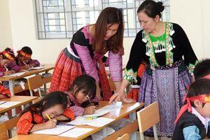 Dạy tiếng Việt cho trẻ em dân tộc thiểu số hiệu quả nhờ truyền thông tốt