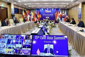 Tuyên bố Chủ tịch của Hội nghị Cấp cao Đông Á bày tỏ 'quan ngại sâu sắc' về Biển Đông