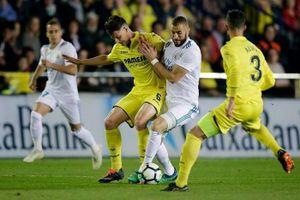 Trực tiếp Villarreal vs Real Madrid: Kền kền run sợ