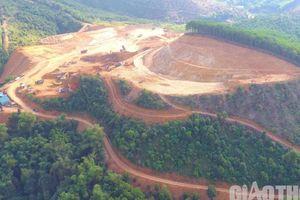 Hòa Bình: Dự án 500 tỷ ngang nhiên san đồi dù chưa có giấy phép xây dựng