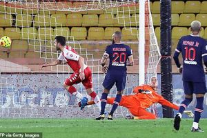 PSG nhận thất bại cay đắng trước Monaco