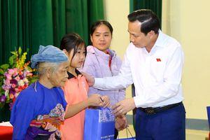 Bộ trưởng Đào Ngọc Dung: Đảm bảo ổn định đời sống cho người dân vùng bị sạt lở do lũ ống, lũ quét