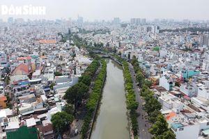 TP.HCM: Hoàn thành nạo vét, khơi thông kênh Nhiêu Lộc - Thị Nghè