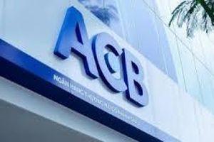 Cổ phiếu ngân hàng ACB được niêm yết trên sàn HoSE