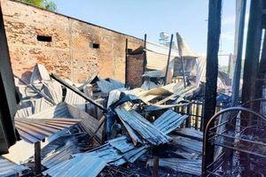 An Giang: Hỏa hoạn thiêu rụi 2 căn nhà ở xã Bình Mỹ