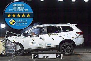 Mitsubishi Outlander lắp ráp tại Việt Nam đạt 5 sao an toàn ASEAN NCAP