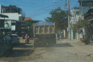Nhiều lực lượng phối hợp xử lý xe quá tải tung hoành các tuyến phố Lâm Đồng