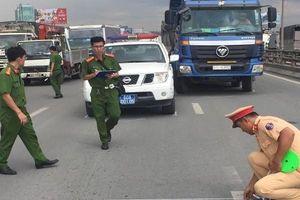 Tai nạn giao thông chiều 21/11: Bắt khẩn cấp tài xế điều khiển xe ben tông xe tuần tra CSGT