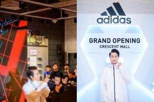 Karik 'cháy hết cỡ' trong ngày ra mắt hệ thống cửa hàng adidas tại Crescent Mall