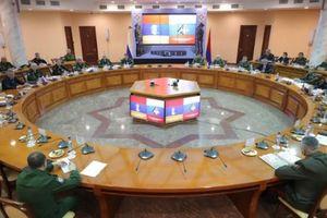 Nga, Armenia ký các văn bản về quy định hành động của lực lượng gìn giữ hòa bình